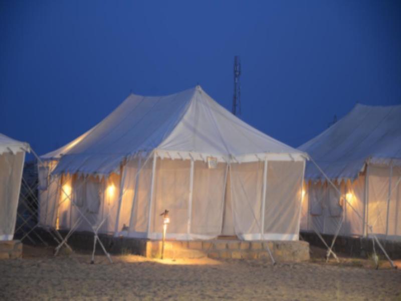 Lamp Desert Camp