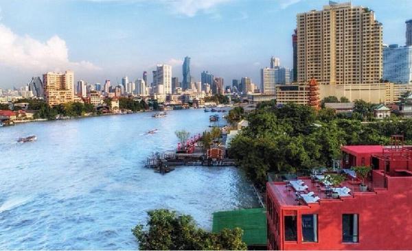 Amdaeng Bangkok Riverside Hotel Bangkok