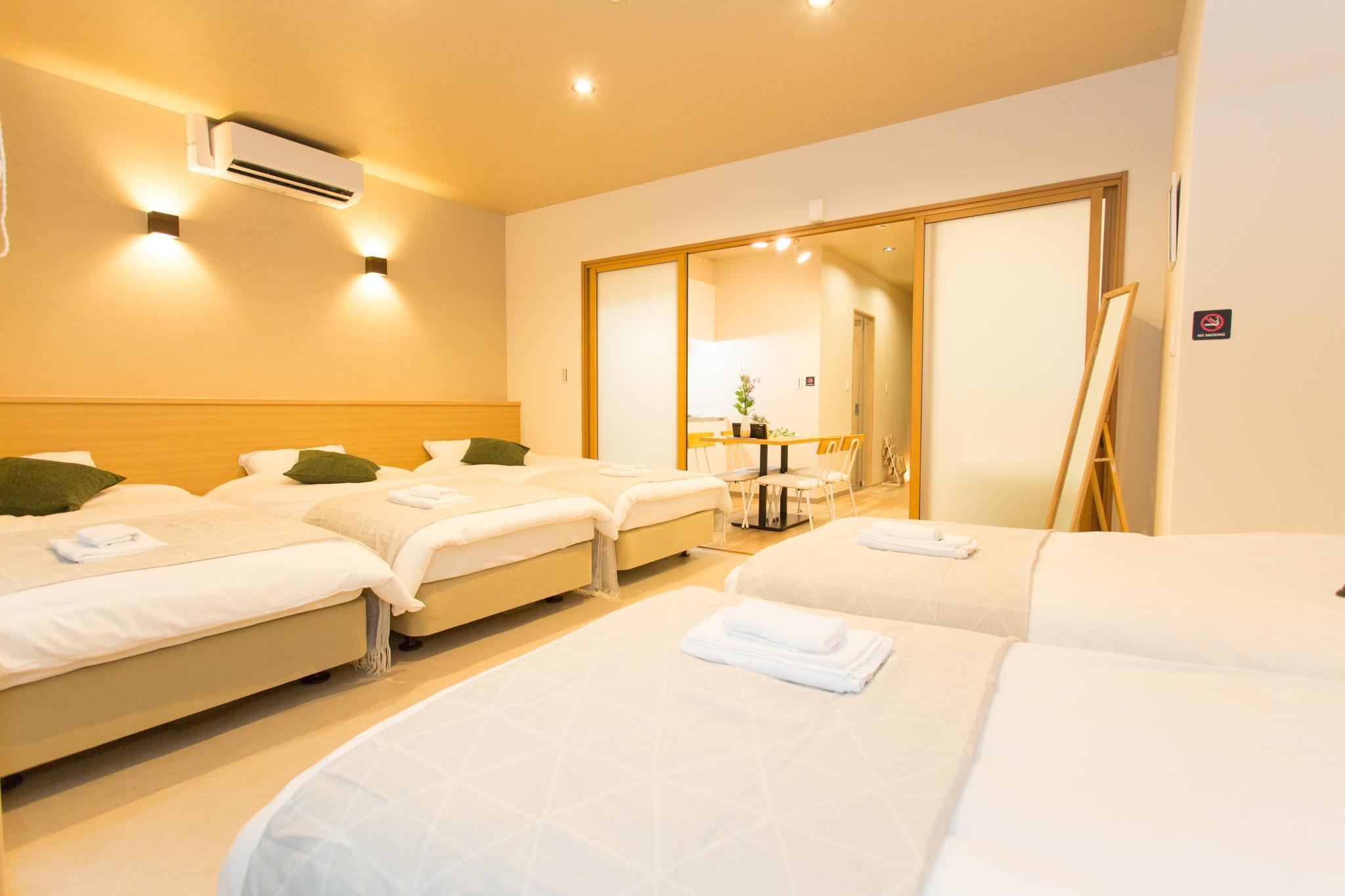 01 Group Stay CLASSE New Hostel In Nanba 6p