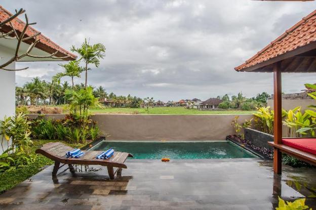 Padi field View 2 BR Villa Eleven @Ubud