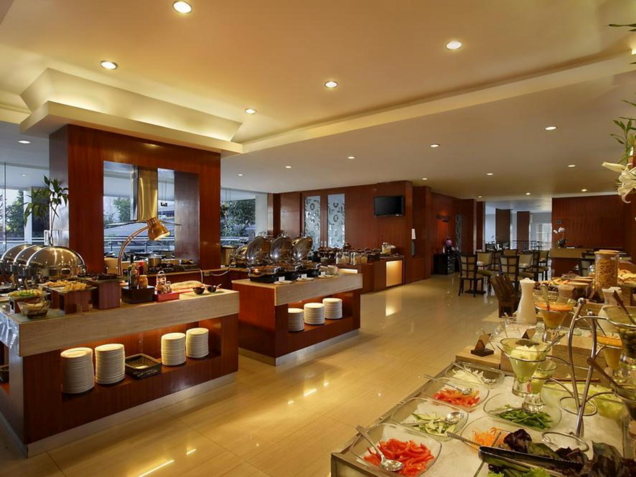 Lokasi Hotel Santika Jemursari Jl. Raya Jemursari No. 258