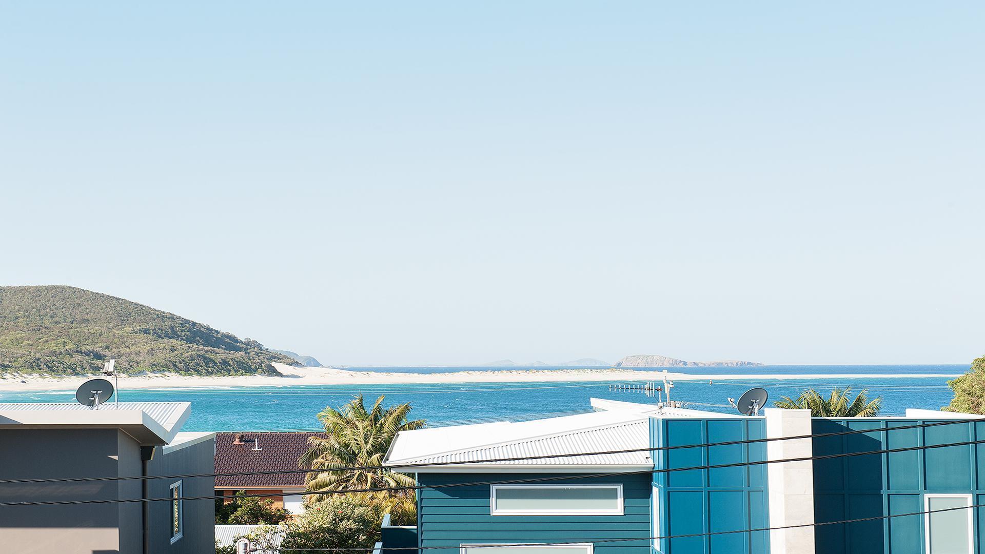 Blue View @ Fingal Bay