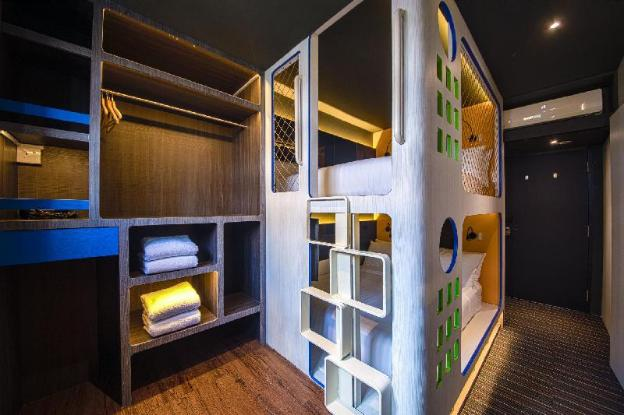 CUBE Family Boutique Capsule Hotel @ Chinatown