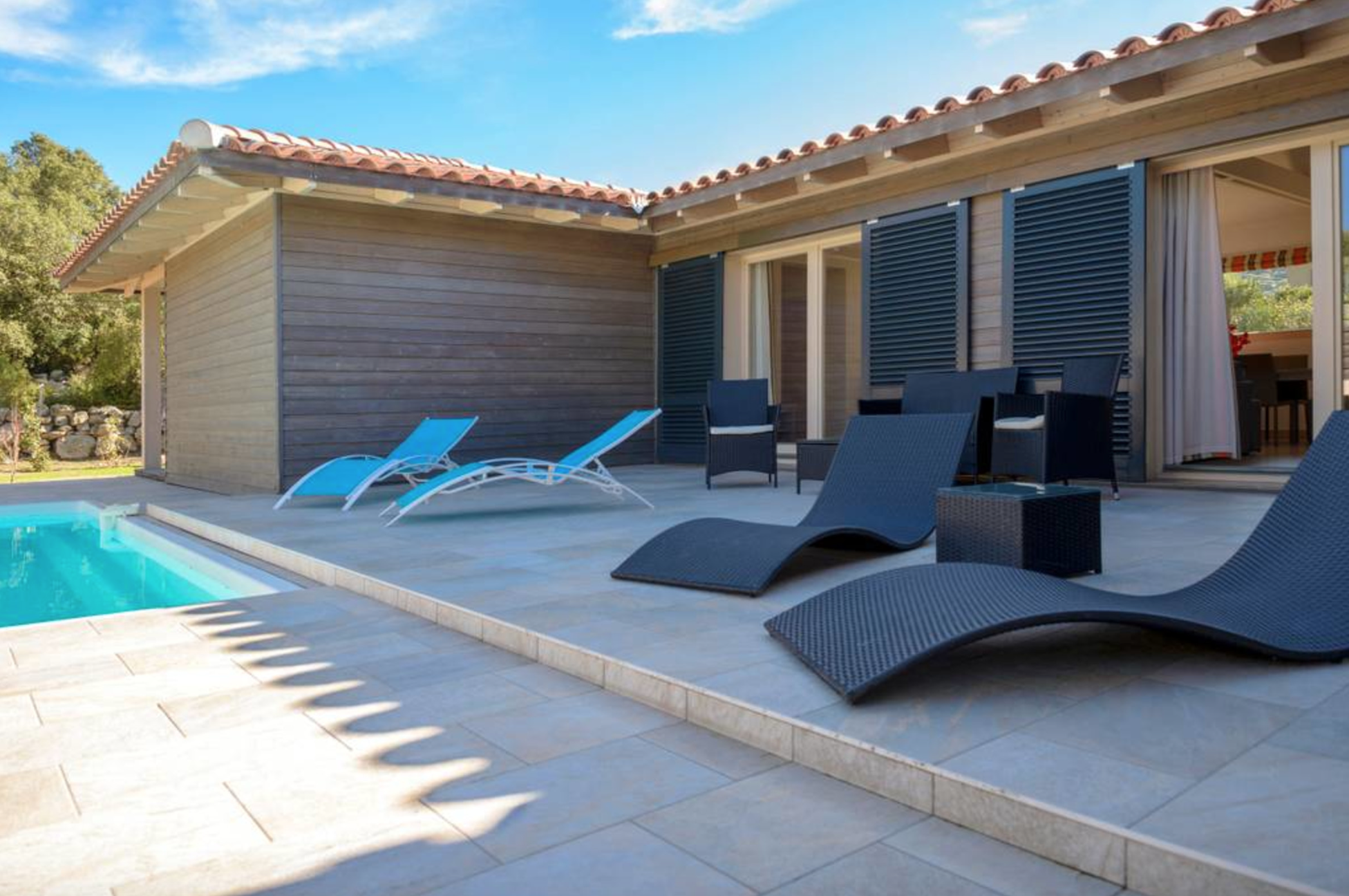 Villa 8 10 Pers With Heated Private Pool