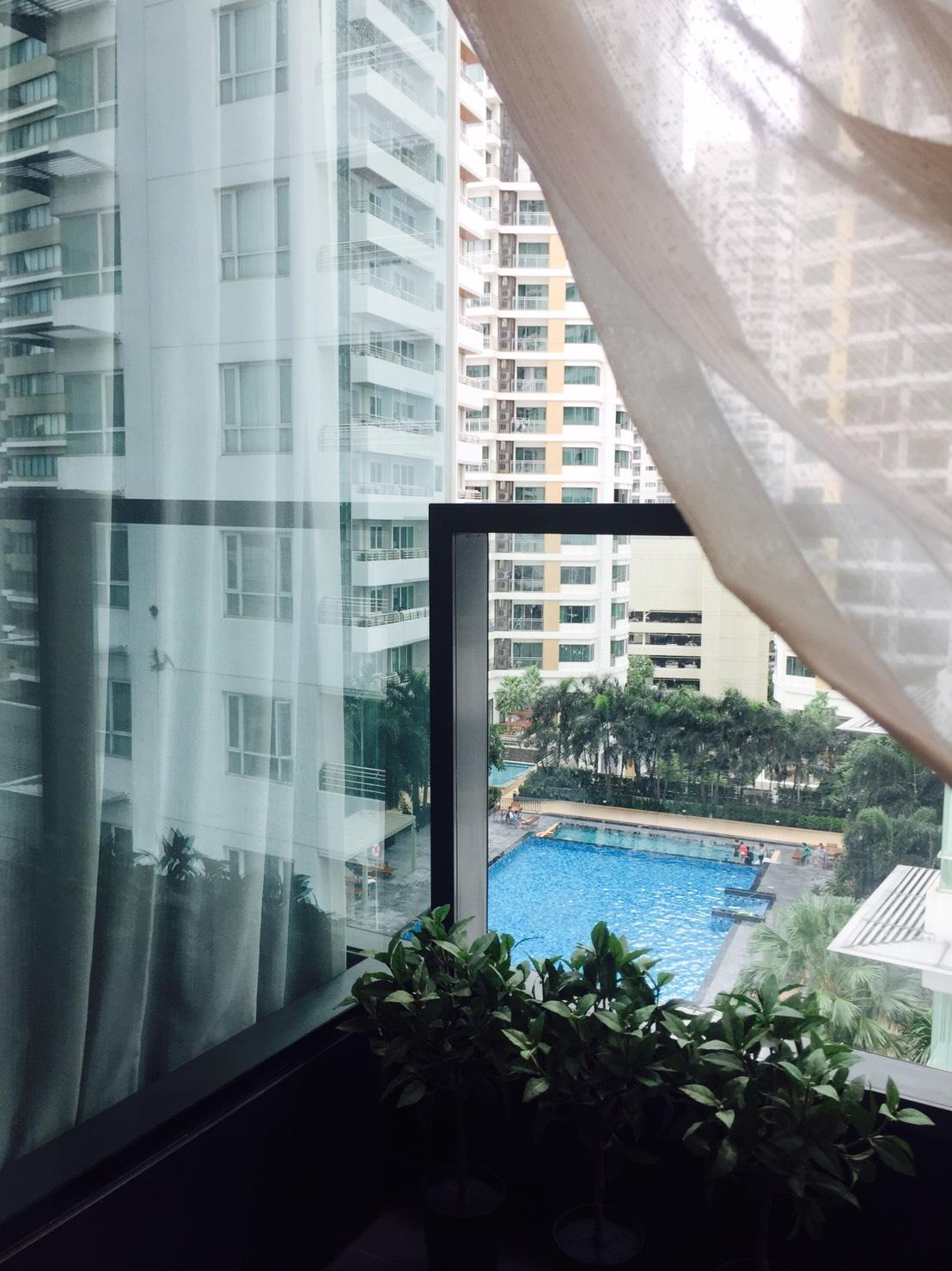 Review Perfect panorama luxury rooftop pool 1BR Near BTS