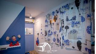 %name STAY TiNY Home Bangkok Blue Room  กรุงเทพ
