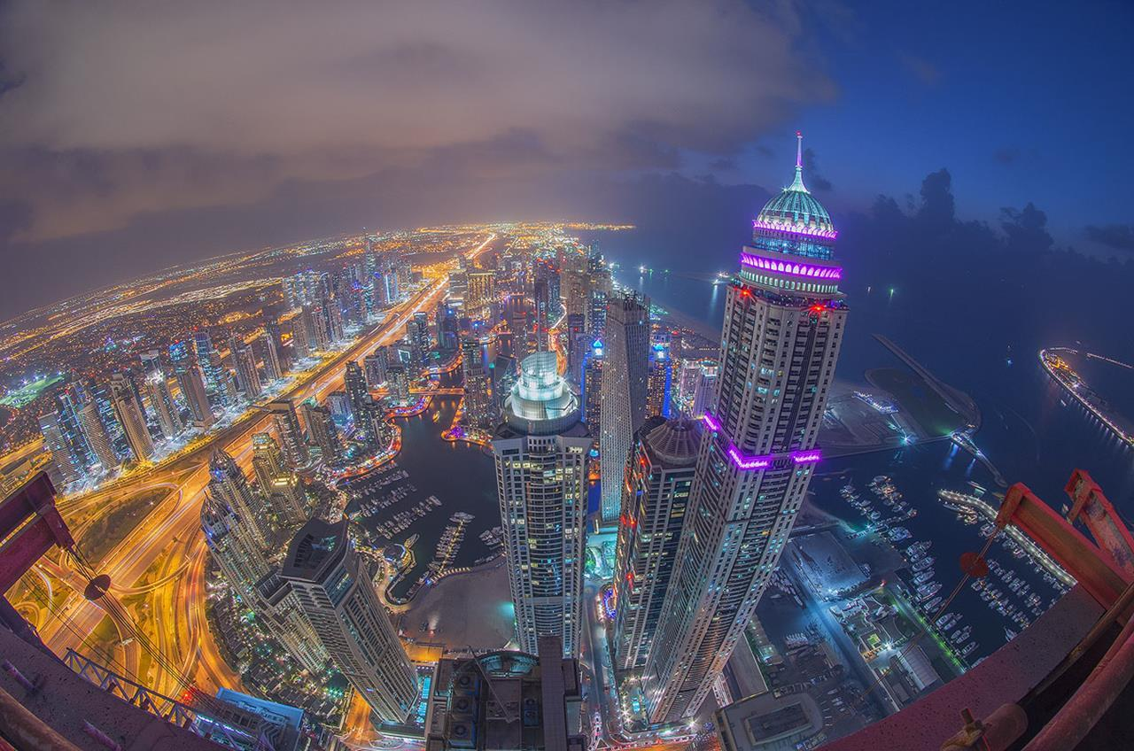 WORLD'S TALLEST RESIDENTIAL PRINCESS TOWER MARINA