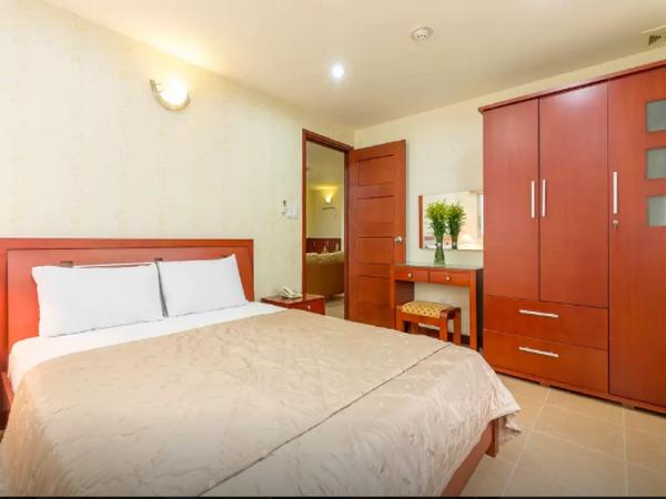 Thien Son Serviced Apt 3-Bedroom with Balcony Ho Chi Minh City