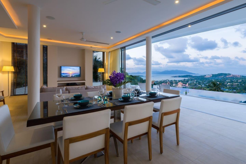 AWARD-Winning 5-Bed Seaview Villa in Plai Laem AWARD-Winning 5-Bed Seaview Villa in Plai Laem