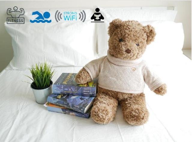 Cozy 1BR- 2 Mins to MRT – Free WiFi – Cozy 1BR- 2 Mins to MRT – Free WiFi