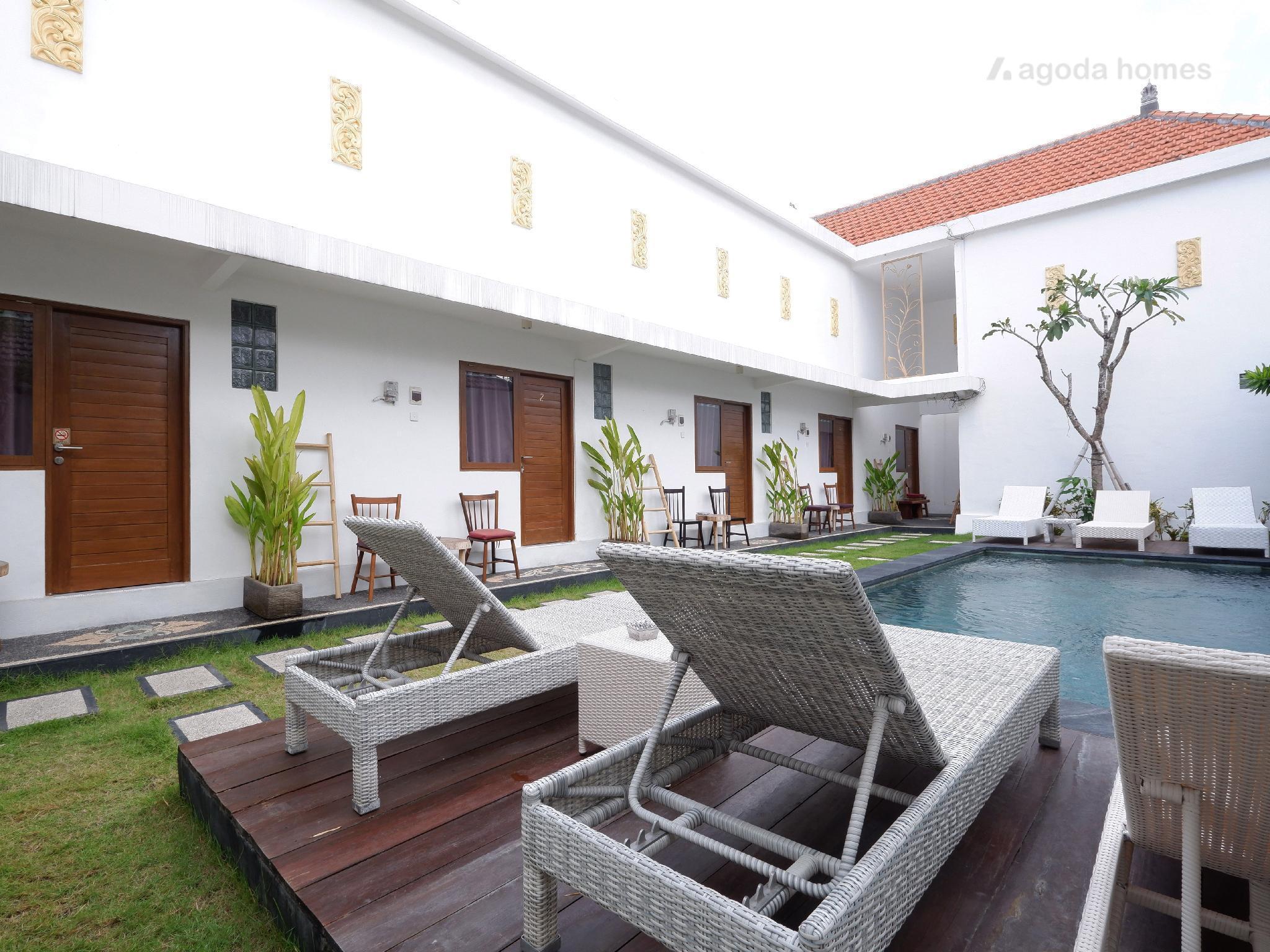 1 Bedroom Apartment At Seminyak And Shared Pool