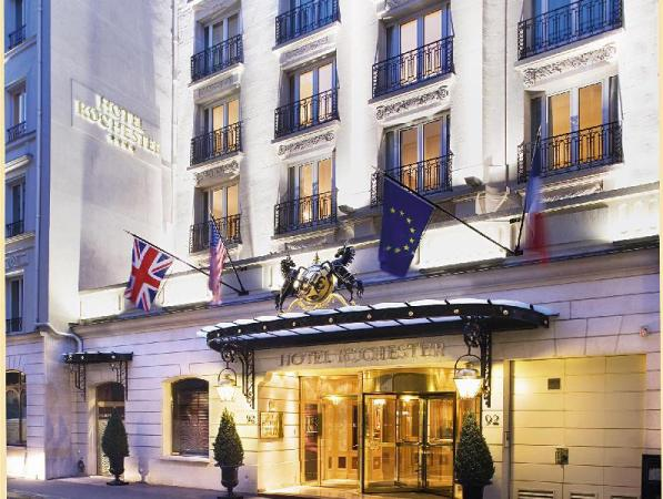 Rochester Champs Elysees Hotel Paris