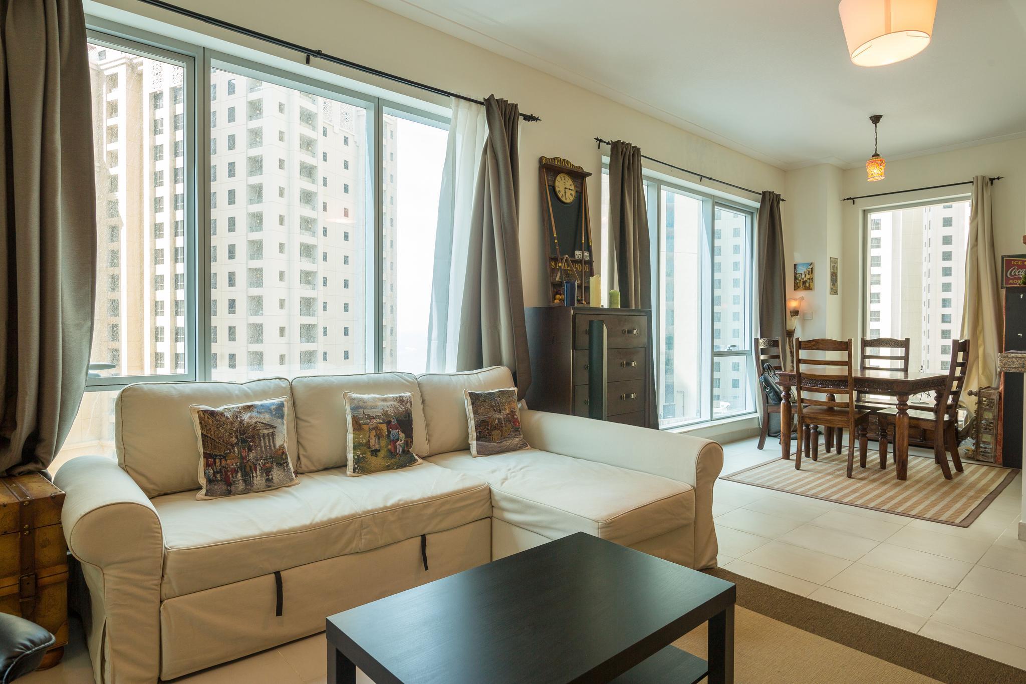 Great Apartment In Marina Promenade Next To Beach