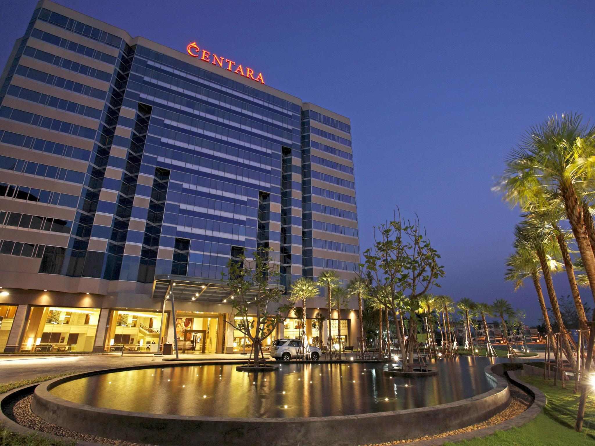 Centara Hotel & Convention Centre Udon Thani เซ็นทารา โฮเต็ล แอนด์ คอนเวนชั่น เซ็นเตอร์ อุดรธานี