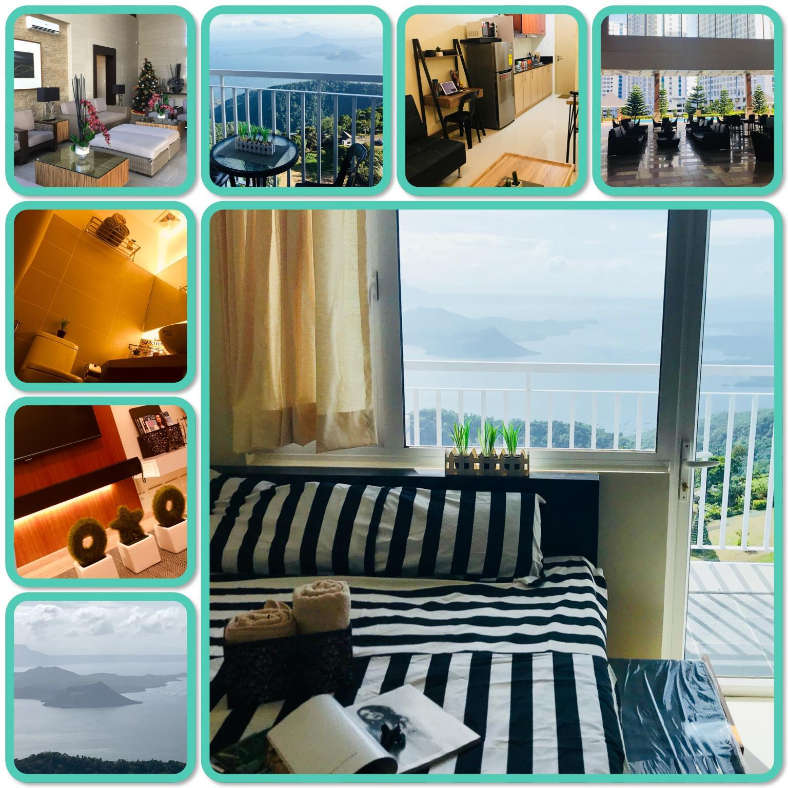 GFam Crib Tagaytay Wind Residences TAAL Lake View