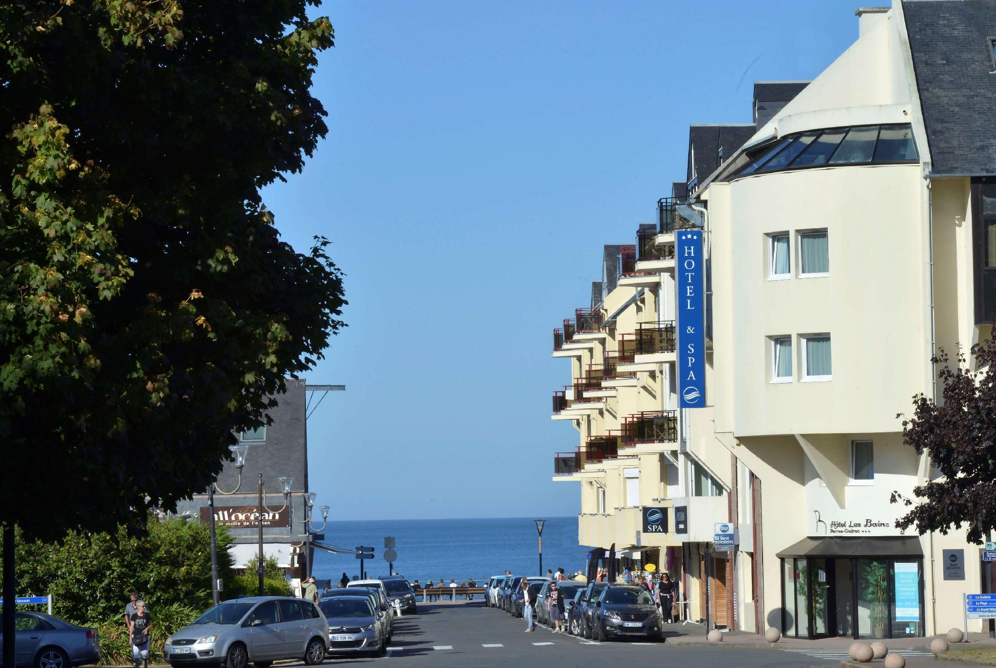 Best Western Les Bains De Perros Guirec Hotel Et Spa