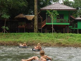 カオ ソック リバー ロッジ Khao Sok River Lodge