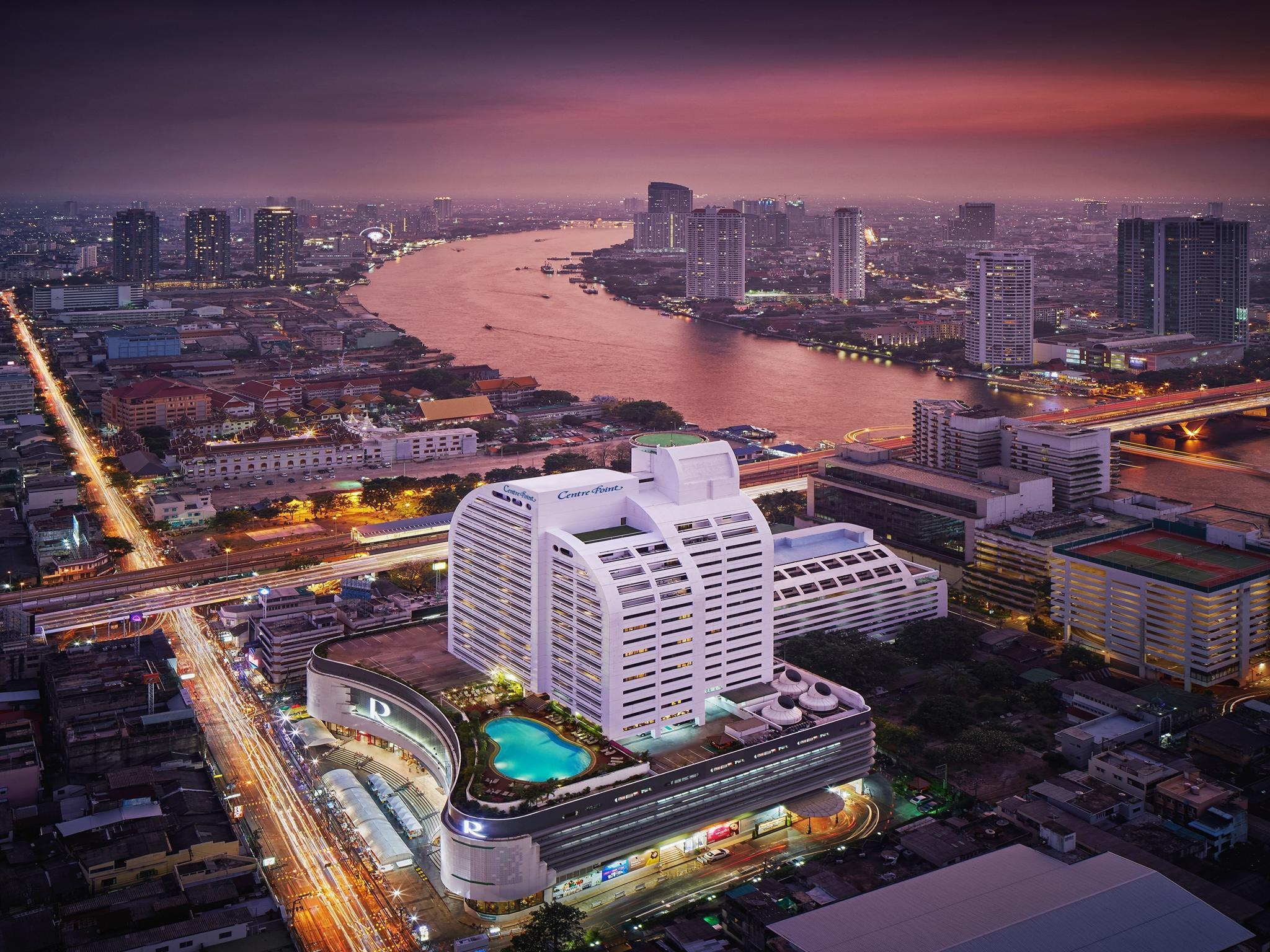 Centre Point Silom River View Hotel. โรงแรมเซ็นเตอร์ พอยต์ สีลม