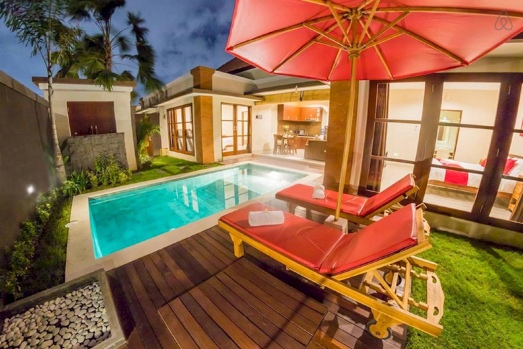 SEMINYAK PROMO RATE   2 Bedroom Private Pool Villa