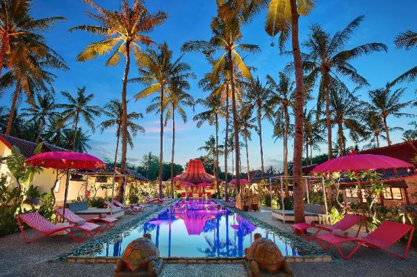 Hotel Pinkcoco Gili Air Lombok