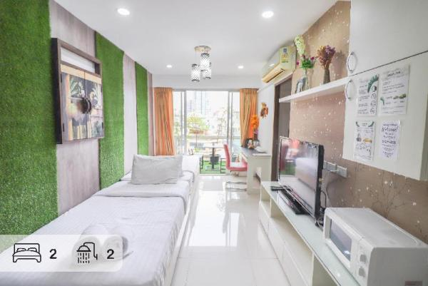 BKK Forest- 2 baths for 6 people near metro+TOUR Bangkok