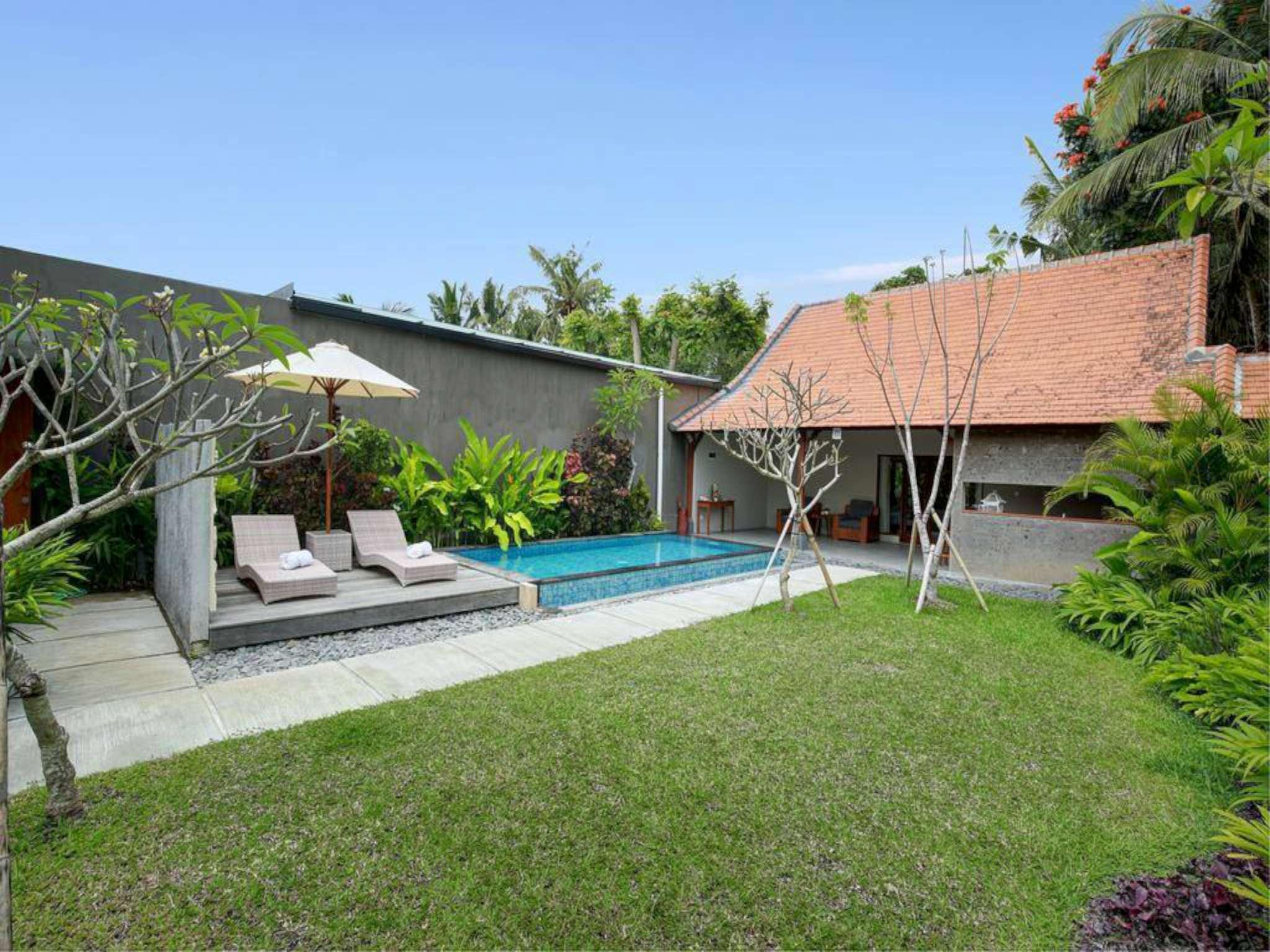 1 BDR Sativa Villas Ubud Private Pool