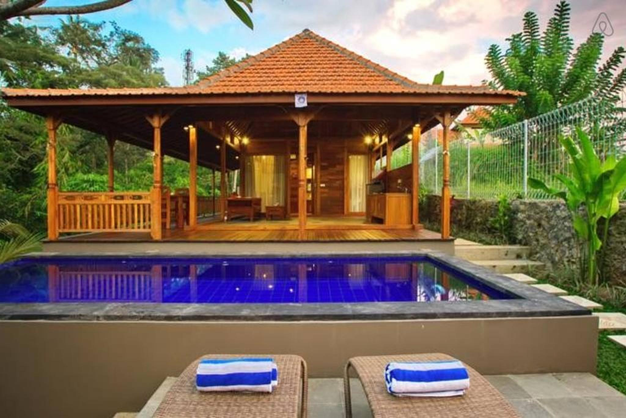 Discount 1 BDR Pool Villa Ubud in Sayan