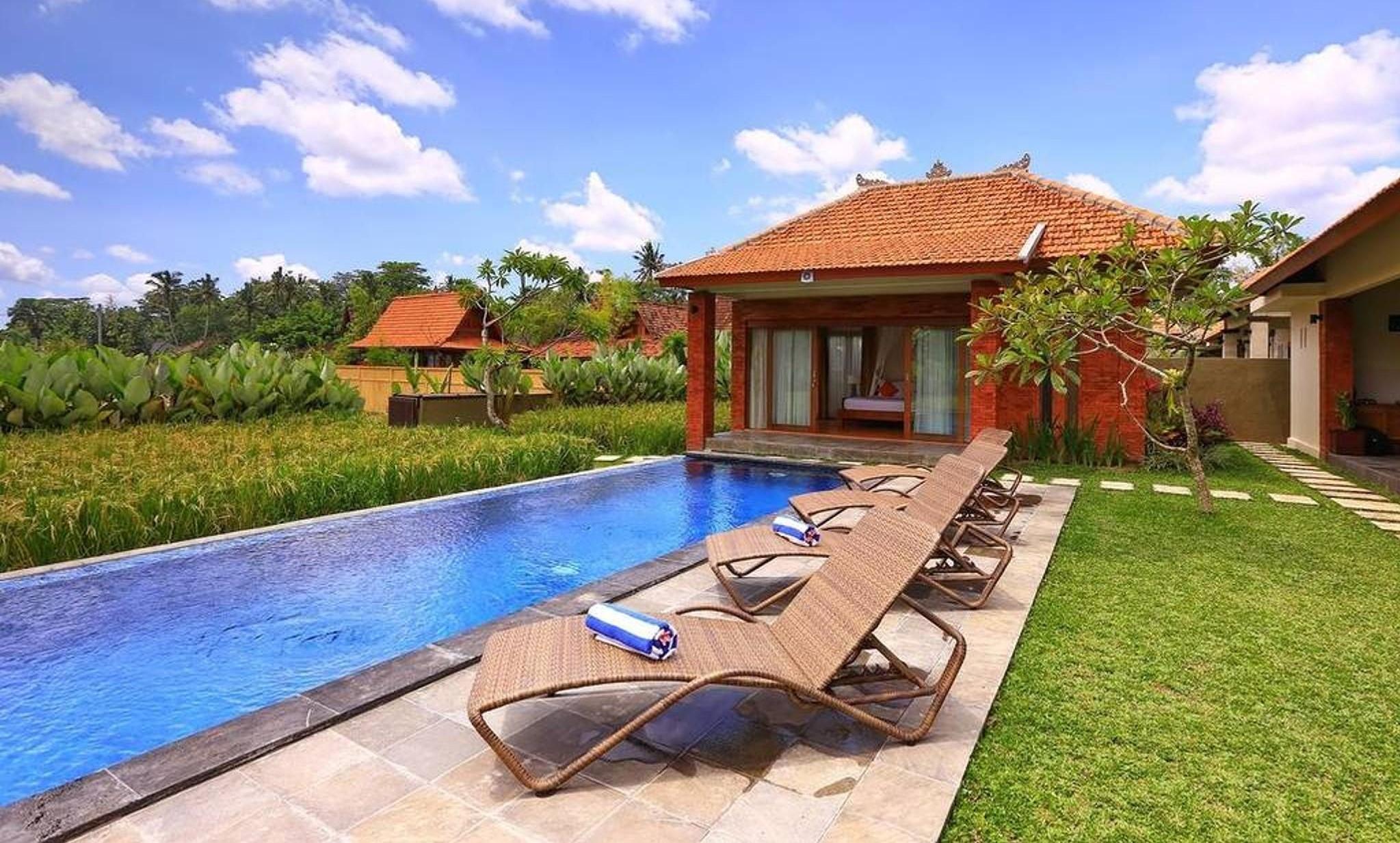 2 BDR Private Pool Villa Ubud Heaven