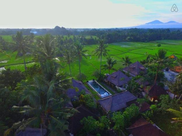 Villa Butterfly-Rice Fields-Sunset View-Pool-Resto