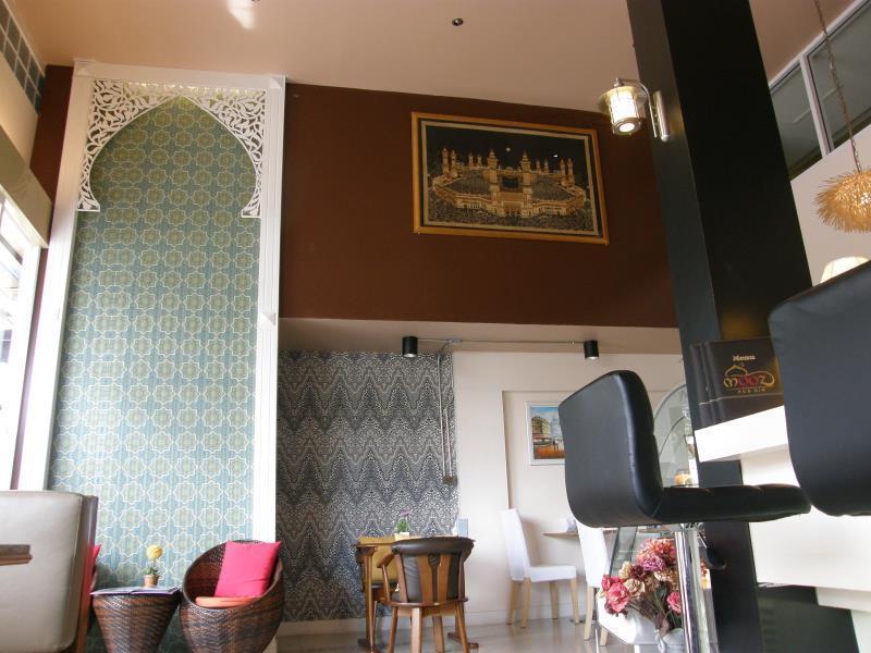 Coffee Shop Cafe Standard Twin Room