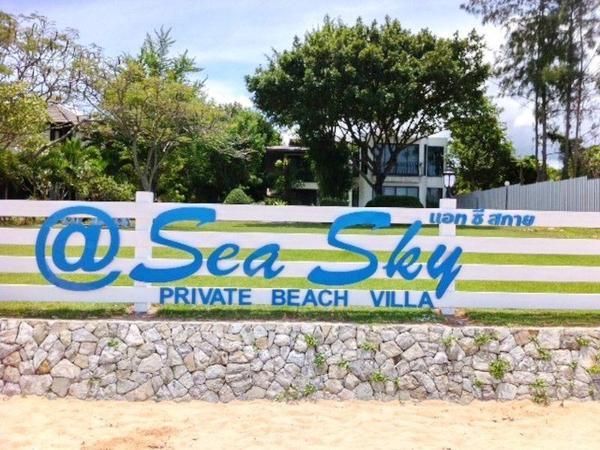 Sea Sky Private Beach Villa Pattaya
