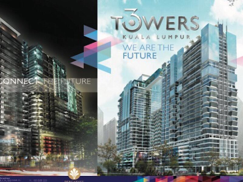 3 Tower Duplex Unit Apartment City View