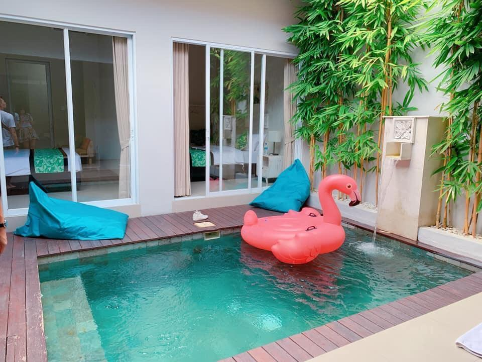 New Cozy Two Bedroom Private Pool