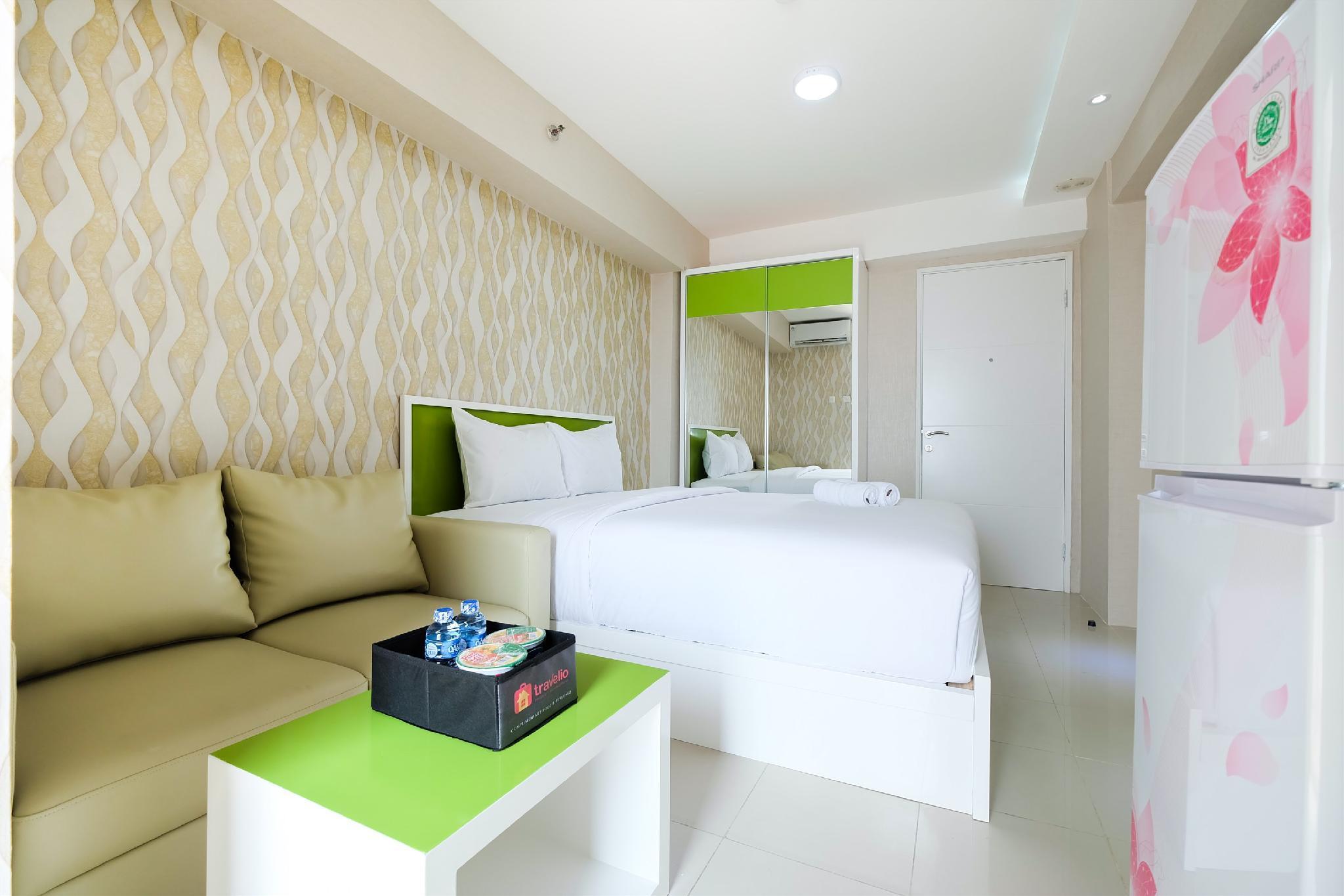 Modern Studio Bassura City Apartment By Travelio