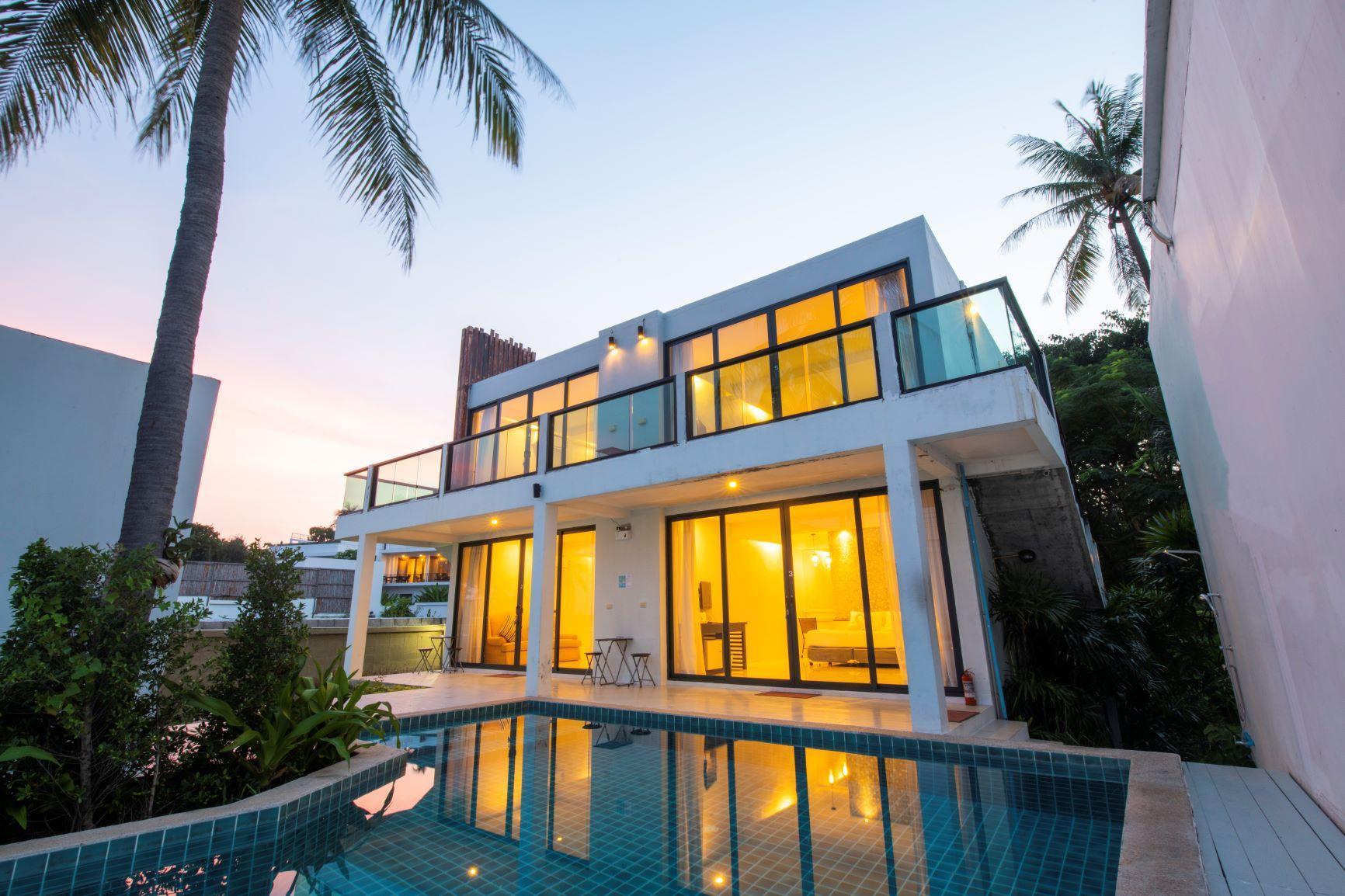 Pranburi Pool Villa Beach Font
