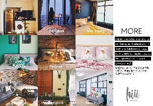 [パタヤビーチロード]アパートメント(35m2)| 1ベッドルーム/1バスルーム [hiii]Sakura|Beachfront/BoundlessPool+Gym-UTP002