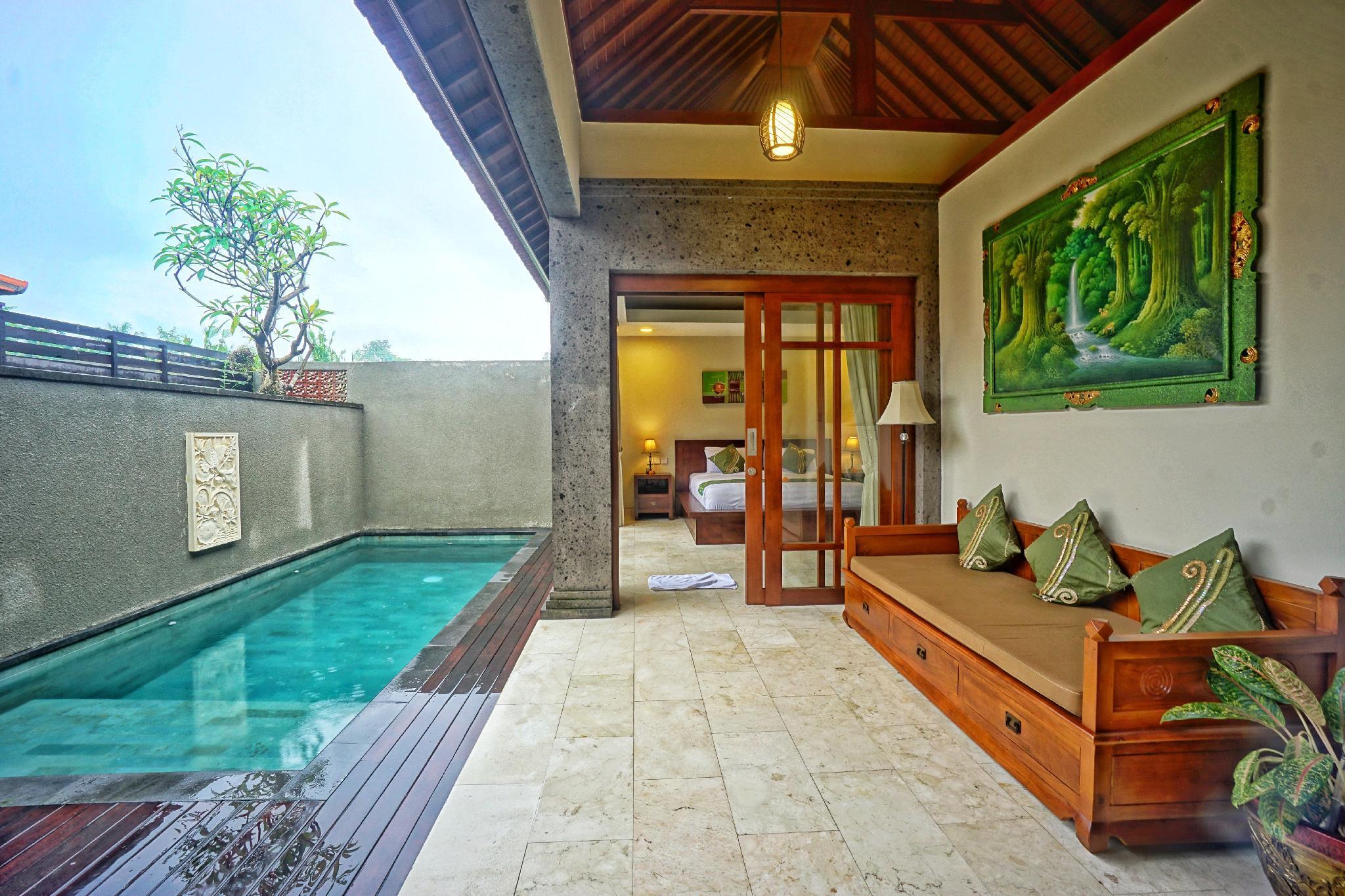 1BR Cozy Private Pool Villa Close To Ubud Center