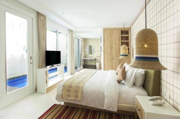 #121 Suite Room Private Pool Beach Front Nusa Dua