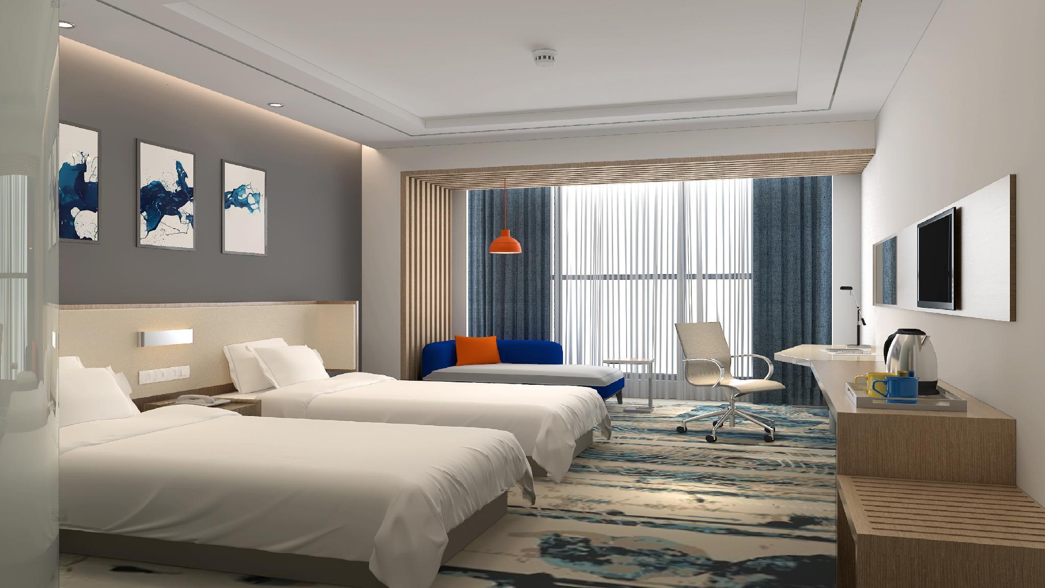 Review Holiday Inn Express Linyi Riverside