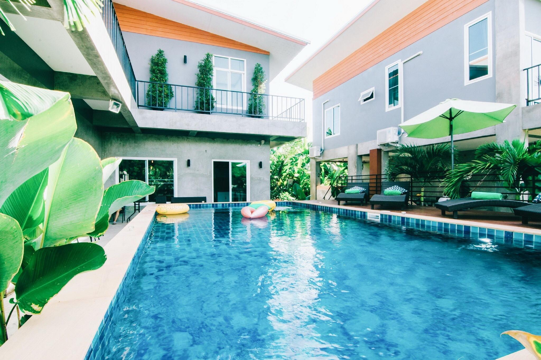 Spacious 3 Houses Combined Pool Villa And Breakfast