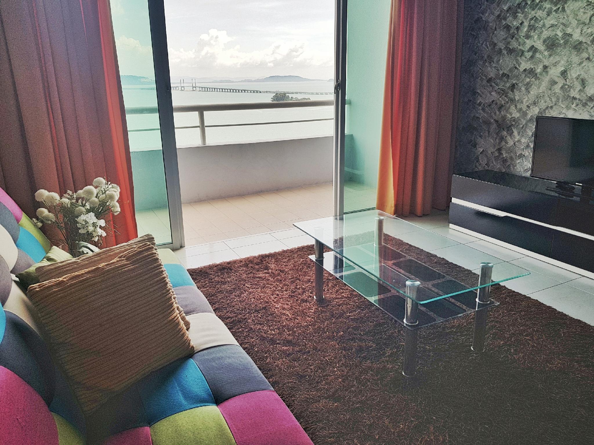 Penang Bridge Seaview 3BR   Cozy Homestay