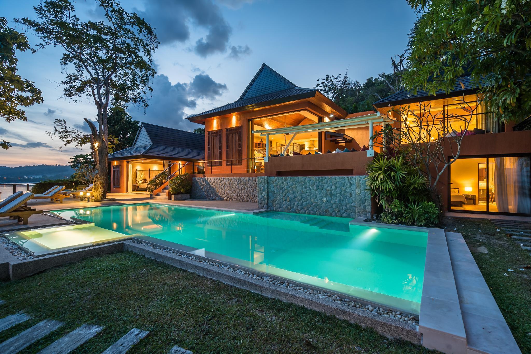 Villa Nam Bo - Oceanfront with maid and chef วิลลา 5 ห้องนอน 5 ห้องน้ำส่วนตัว ขนาด 600 ตร.ม. – แหลมพันวา