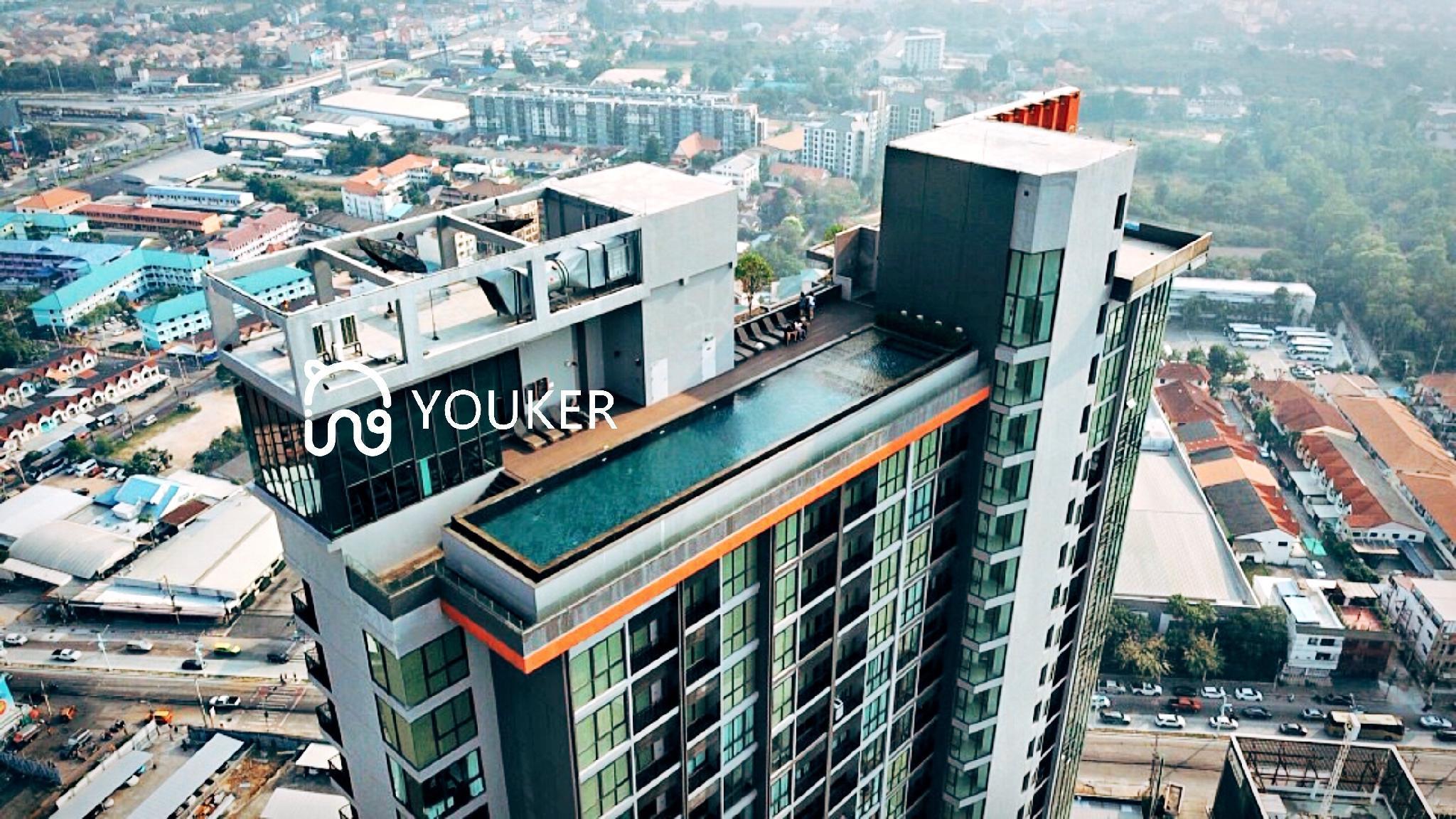 1 bed Suite ,Terrace, Infinity pool, cityview อพาร์ตเมนต์ 1 ห้องนอน 0 ห้องน้ำส่วนตัว ขนาด 27 ตร.ม. – พัทยาเหนือ