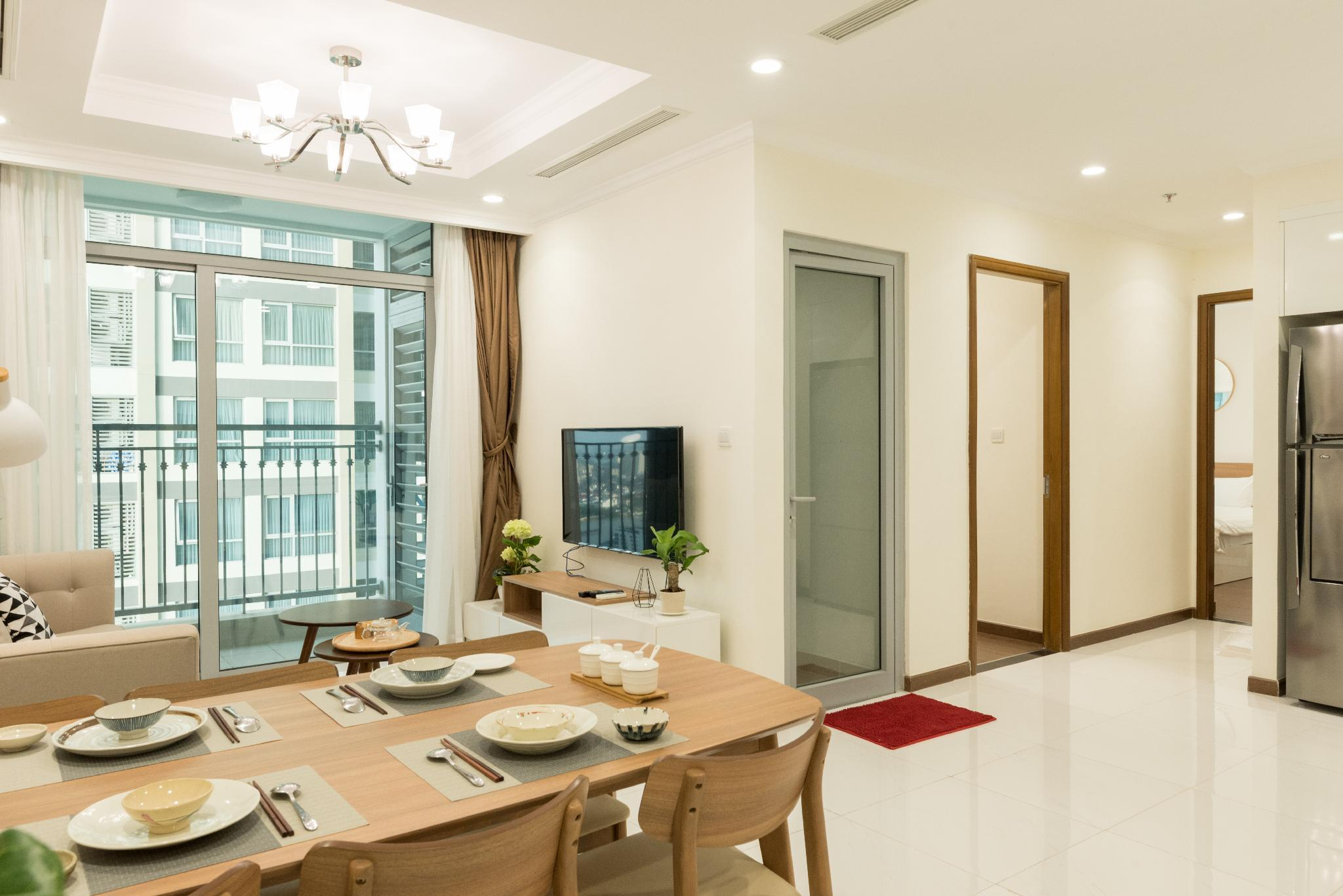 Lux 2BR Flat