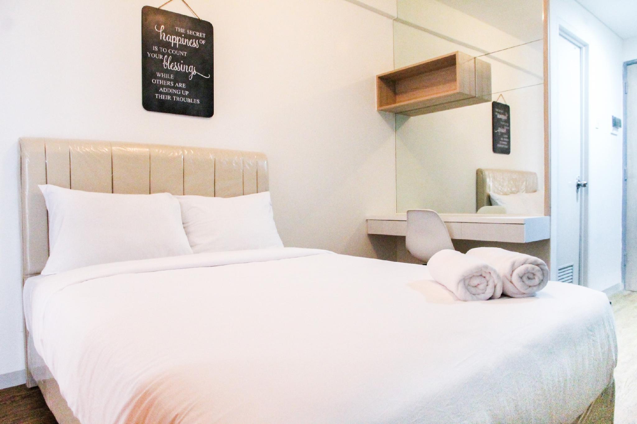 Simply Studio Room Akasa Apartment By Travelio