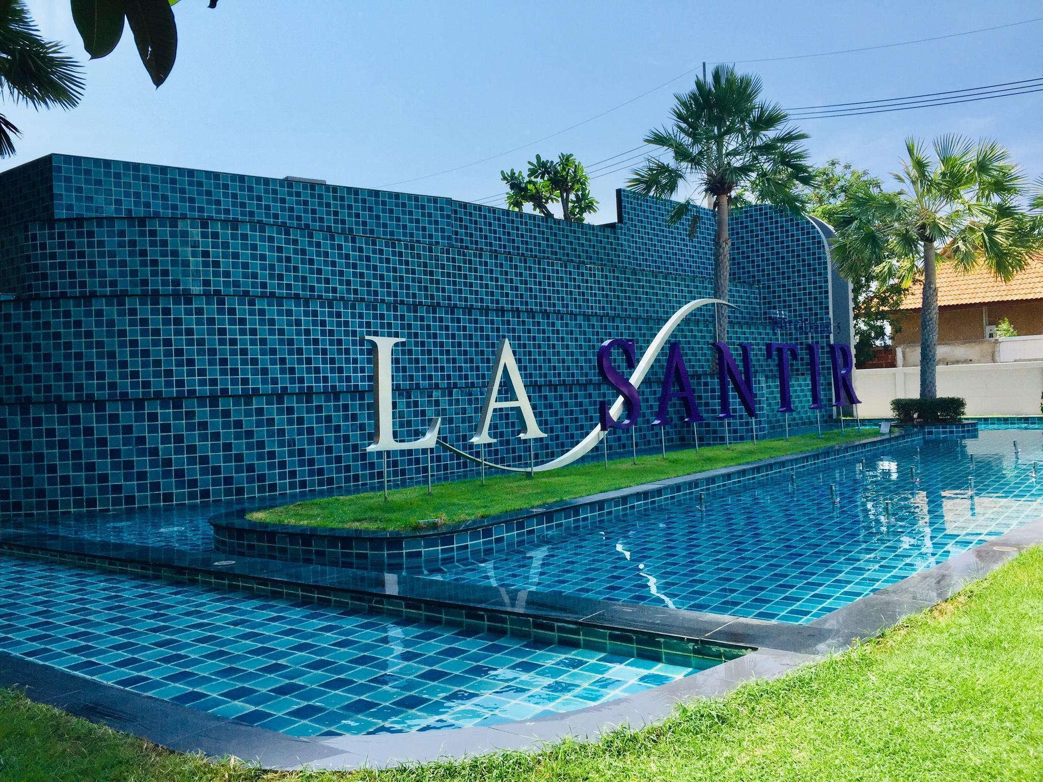 La Santir Condo อพาร์ตเมนต์ 1 ห้องนอน 1 ห้องน้ำส่วนตัว ขนาด 35 ตร.ม. – หาดจอมเทียน