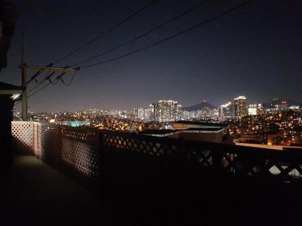Rooftop house with city view near Namsan mountain Seoul