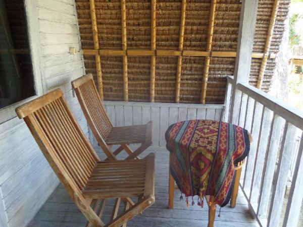 Garden Hut has direct Access to Mushroom Beach  Bali