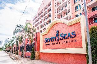 Seven Seas Condo Resort F8 อพาร์ตเมนต์ 1 ห้องนอน 1 ห้องน้ำส่วนตัว ขนาด 36 ตร.ม. – หาดจอมเทียน
