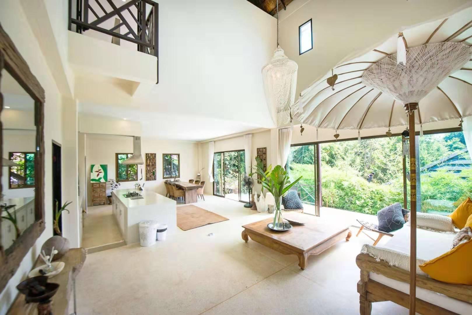 Teak Hill Pool Villa - Rosewood วิลลา 3 ห้องนอน 3 ห้องน้ำส่วนตัว ขนาด 300 ตร.ม. – เกาะช้างใต้